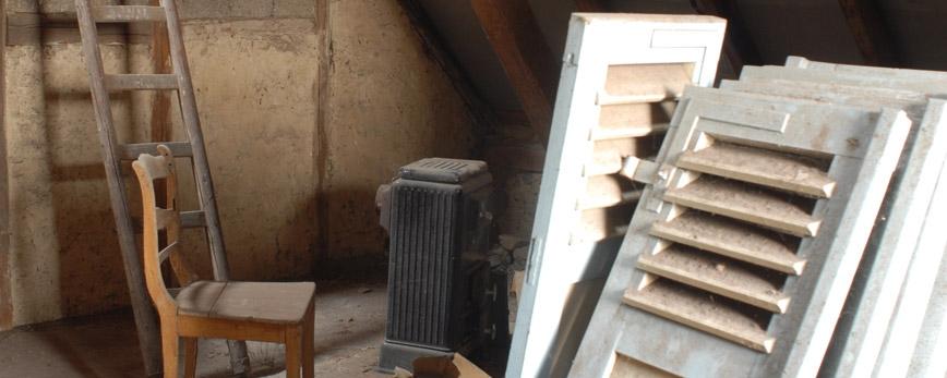 Dachbodenentrümpelung in Nürnberg